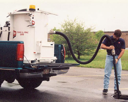 Trav-L-Vac 300 Skid Mount Gas