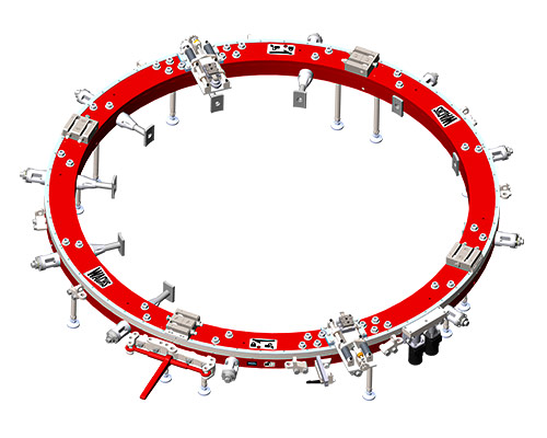LDSF 90 Large Diameter Split Frame