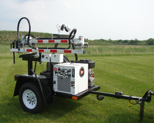 Compact LX Valve Maintenance Trailer VMT, Gas
