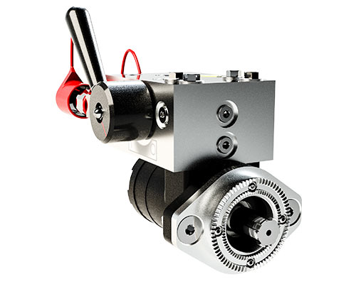 Hydraulic Drive Motor with Flow Control Handle