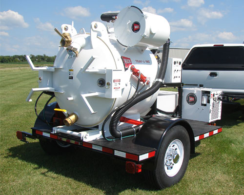 Hydro Excavation Trailer Systems