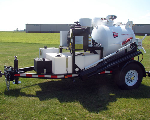 Hydro-Vac Trailer, Gas