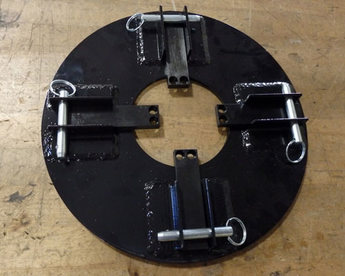 RS-2 Hand Wheel Drive Adaptor Plate