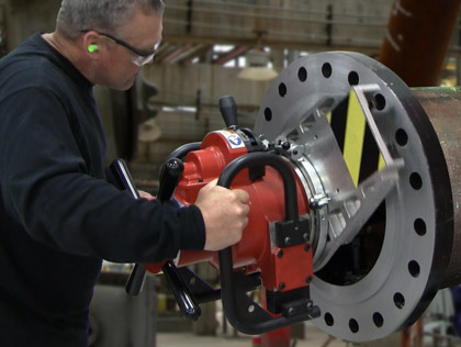 SpeedPrep EP 424 End Prep Flange Facers