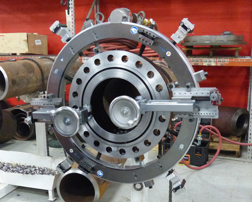 Flange Facing with DynaPrep MDSF