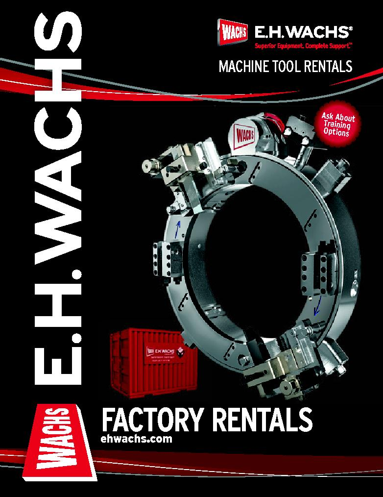 E.H. Wachs Industrial Rental Brochure