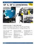 GF Series Saws Product Line